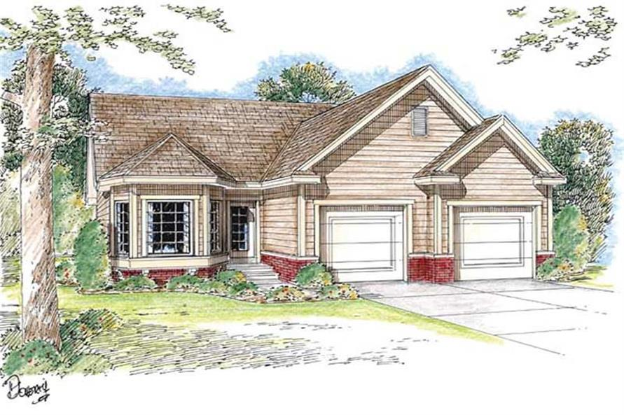 Main image for house plan # 20189