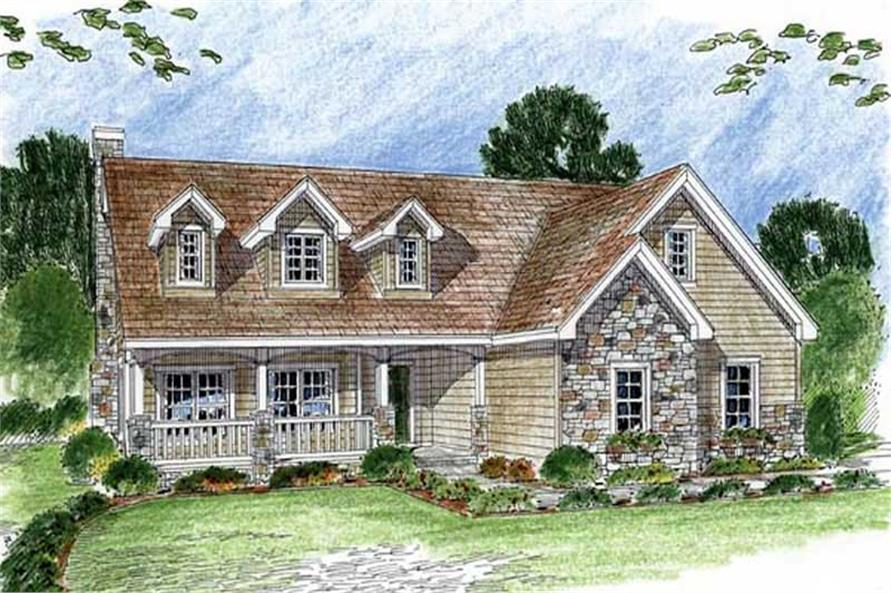 Main image for house plan # 20288