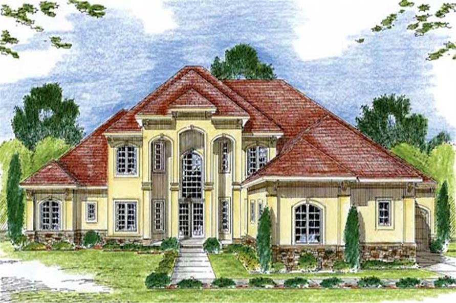 Main image for house plan # 20285
