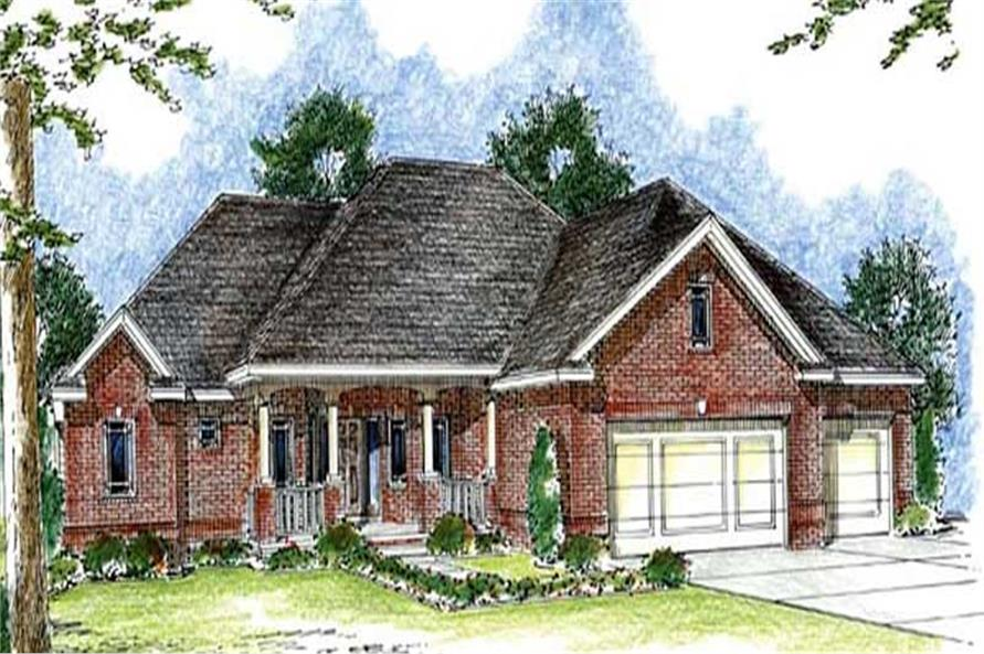 Main image for house plan # 20283