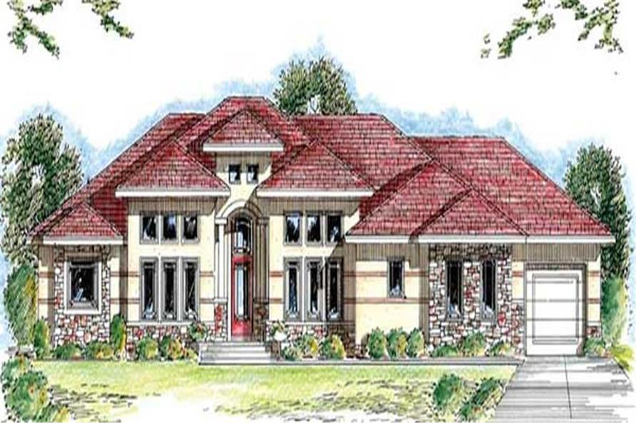 Main image for house plan # 20272
