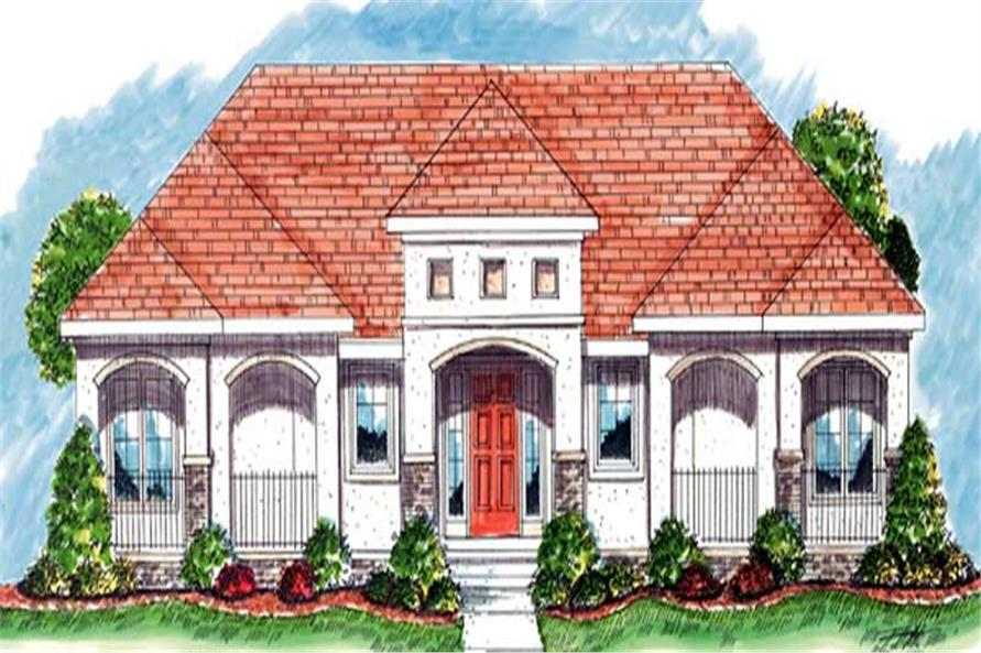 Main image for house plan # 20248