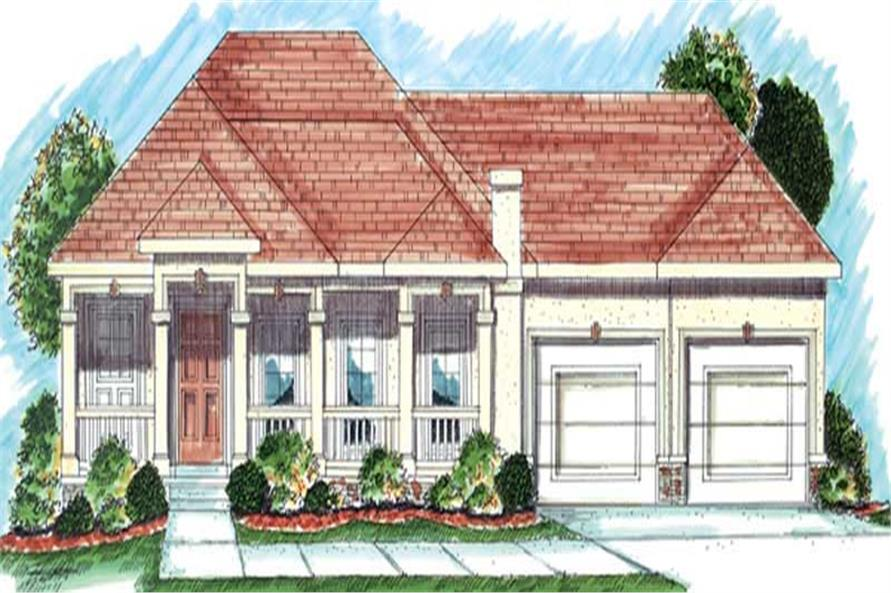 Main image for house plan # 20225