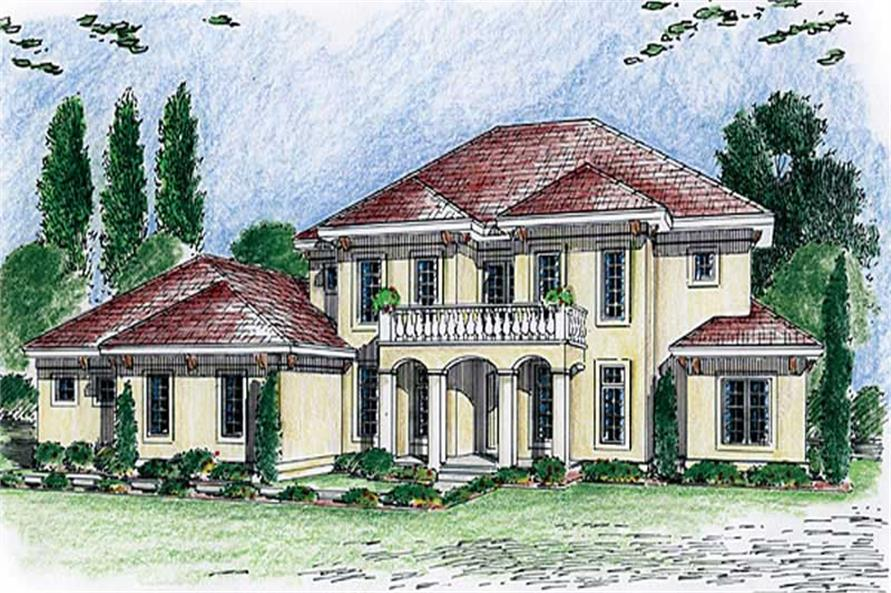 Main image for house plan # 20344