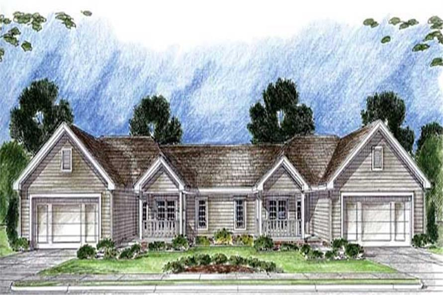 Main image for house plan # 20308