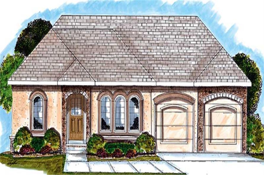 Main image for house plan # 20234