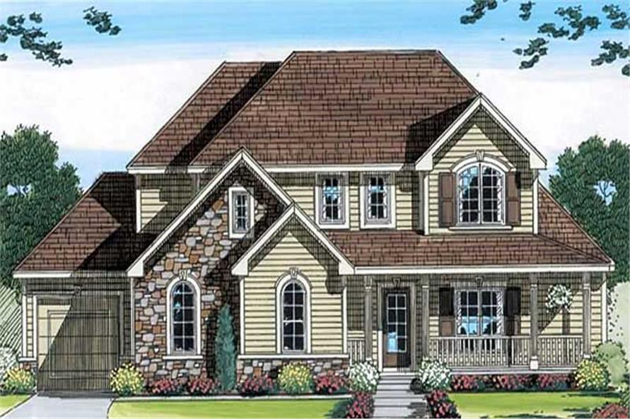 Main image for house plan # 20273