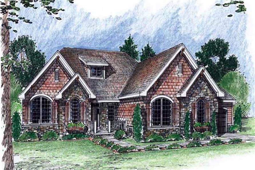 Main image for house plan # 20336