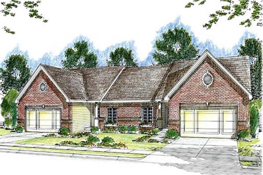 Main image for house plan # 20289