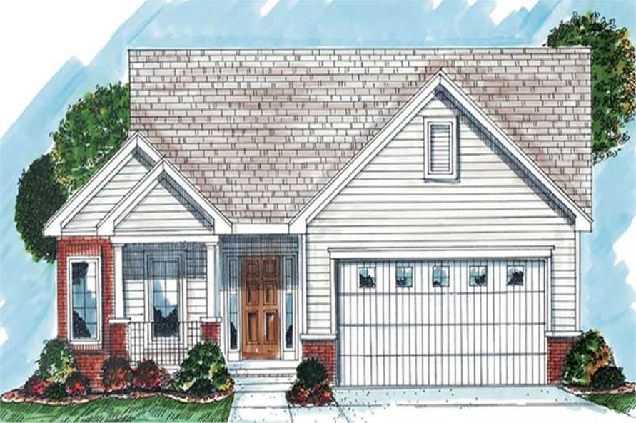 Main image for house plan # 20253