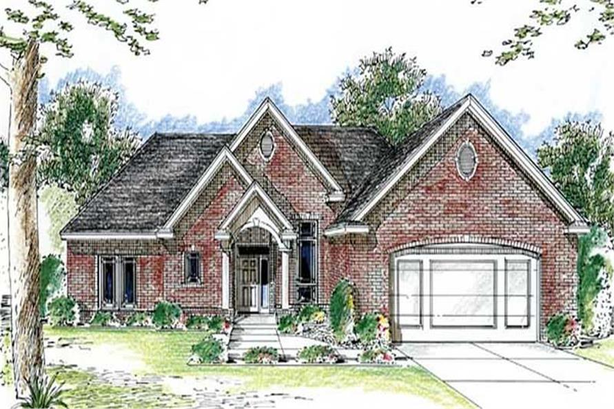 Main image for house plan # 20259