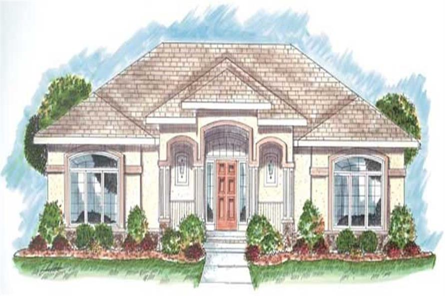 Main image for house plan # 20178