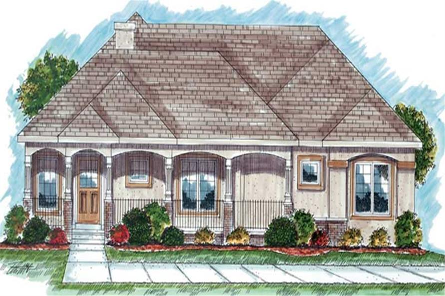 Main image for house plan # 20244