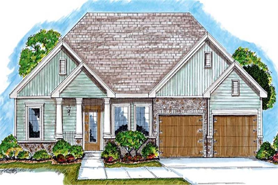 Main image for house plan # 20232