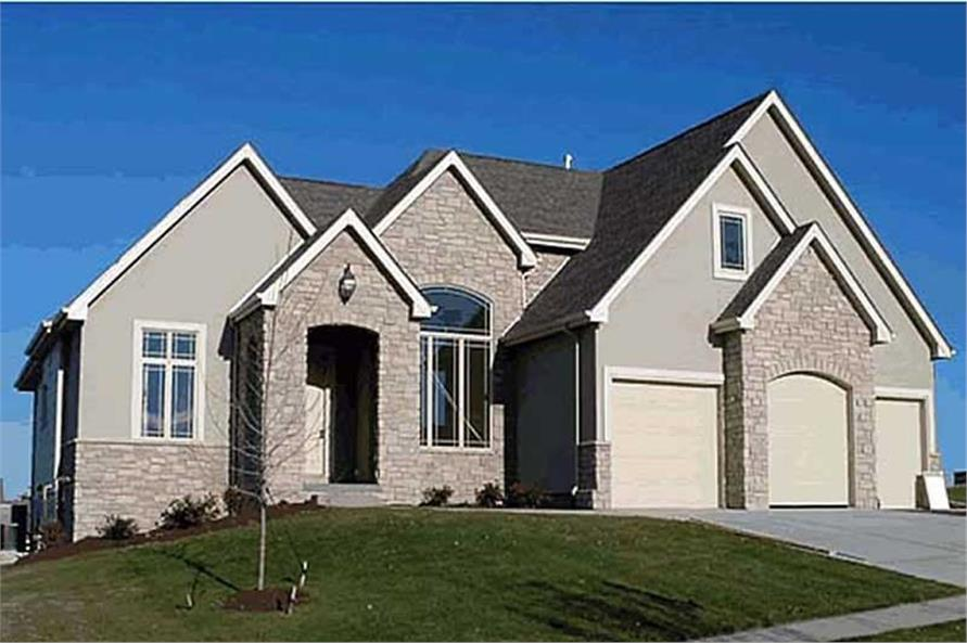 Main image for house plan # 20194