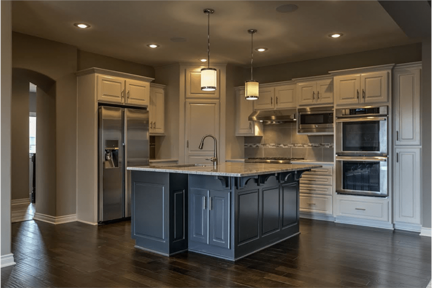 100-1071: Home Interior Photograph-Kitchen