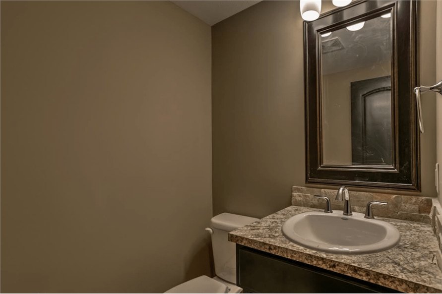 100-1071: Home Interior Photograph-Powder Room