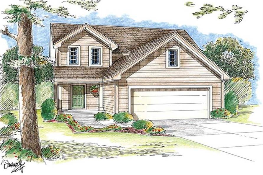 Main image for house plan # 20192