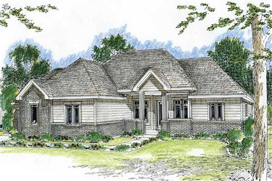 Main image for house plan # 20181