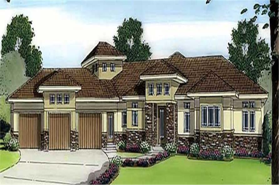 Main image for house plan # 20349