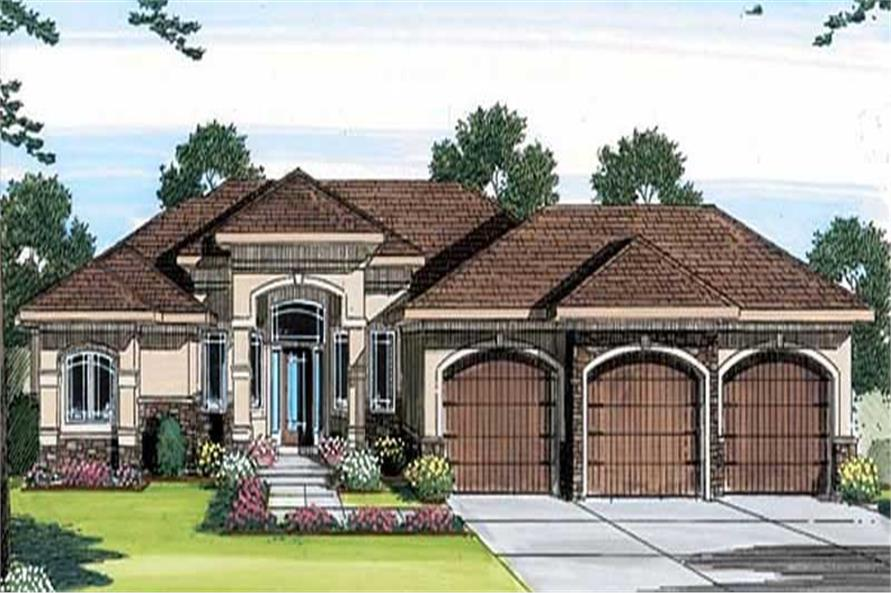 Main image for house plan # 20274