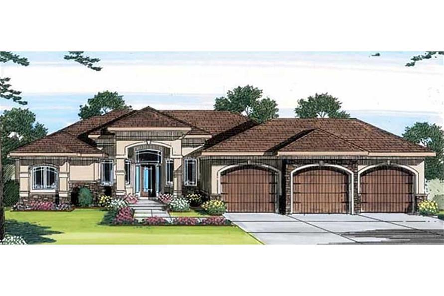 100-1112: Home Plan Rendering
