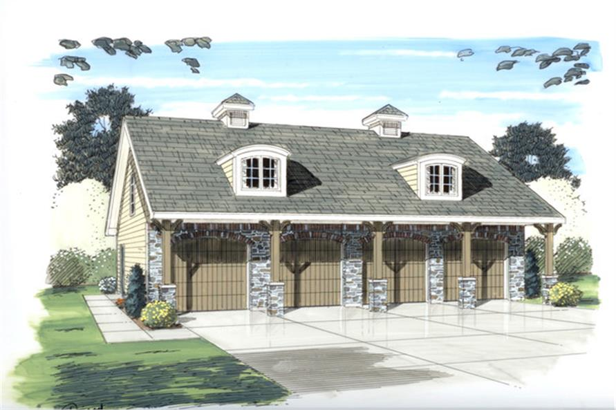 Main image for house plan # 20297