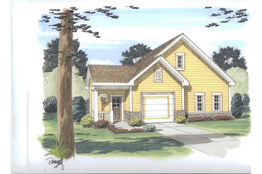 Main image for house plan # 20299