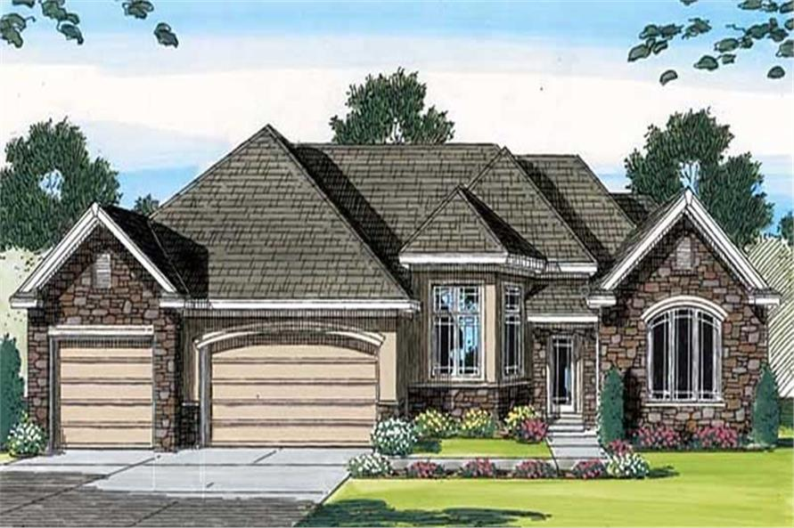 Main image for house plan # 20321