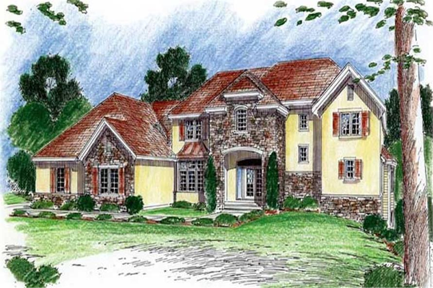 Main image for house plan # 20341