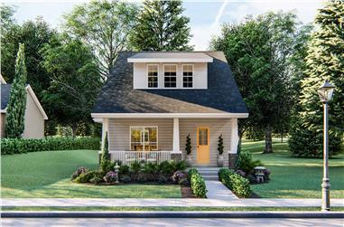 2-Bedroom, 1441 Sq Ft Craftsman Home Plan - 100-1133 - Main Exterior
