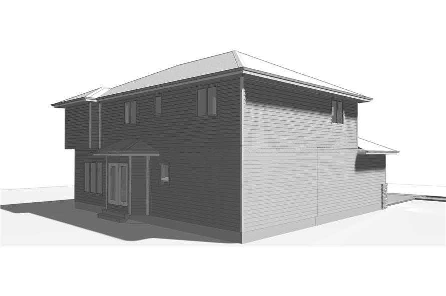 100-1193: Home Plan Rendering