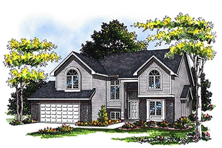 Main image for house plan # 17090