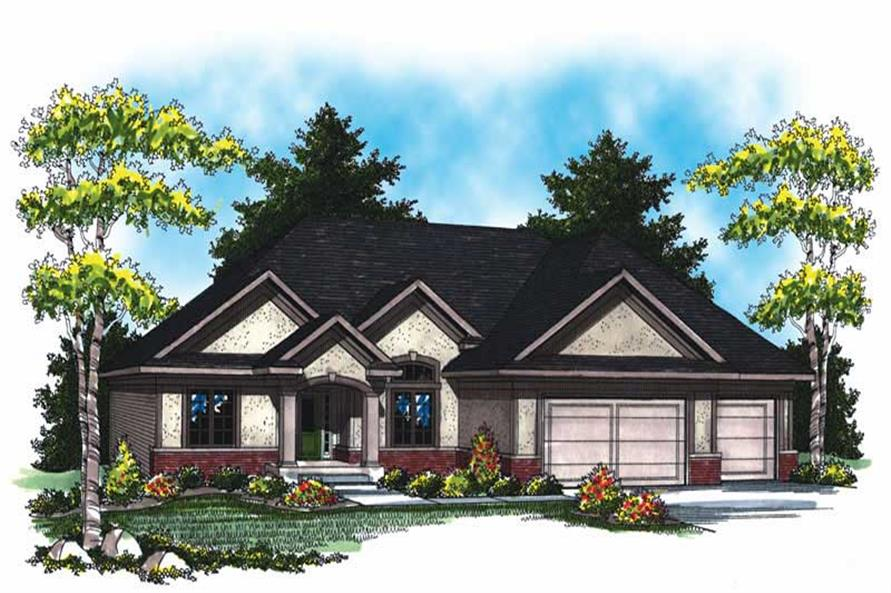 Main image for house plan # 17009