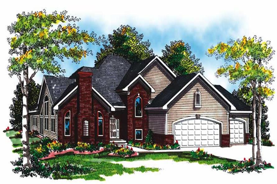 Main image for house plan # 17016