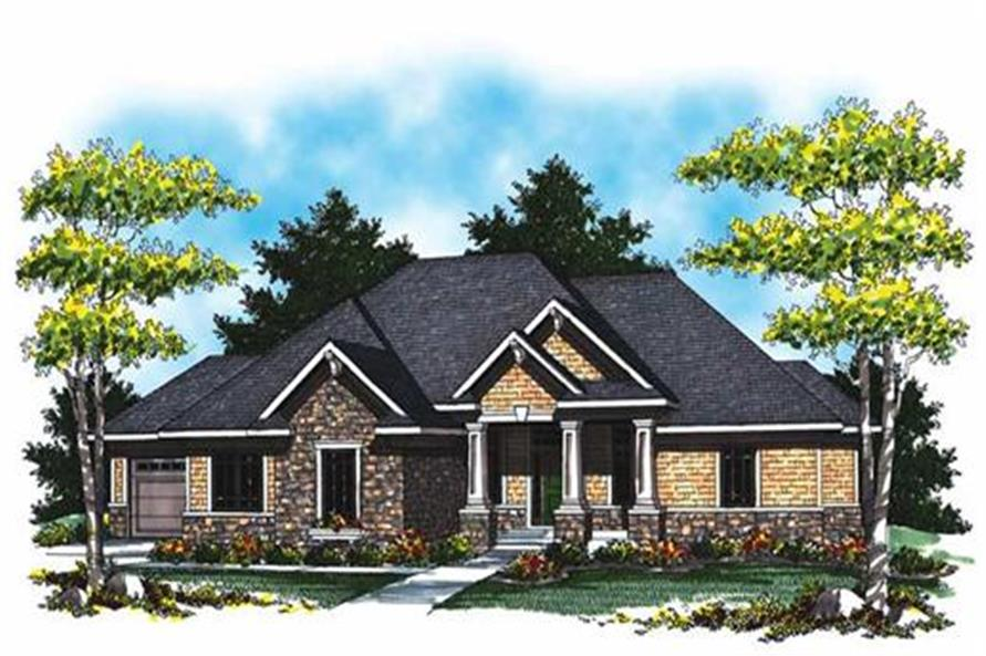 101-1008: Home Plan Rendering