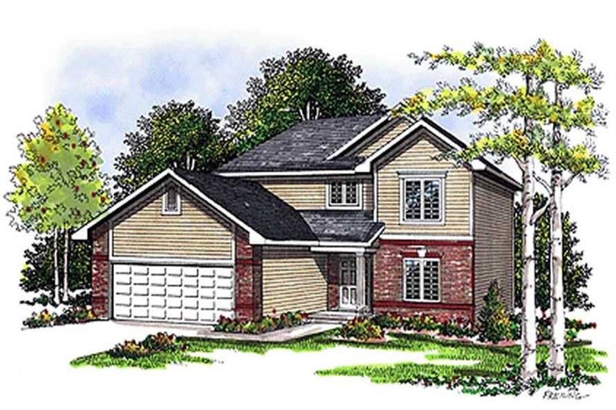 Main image for house plan # 17094