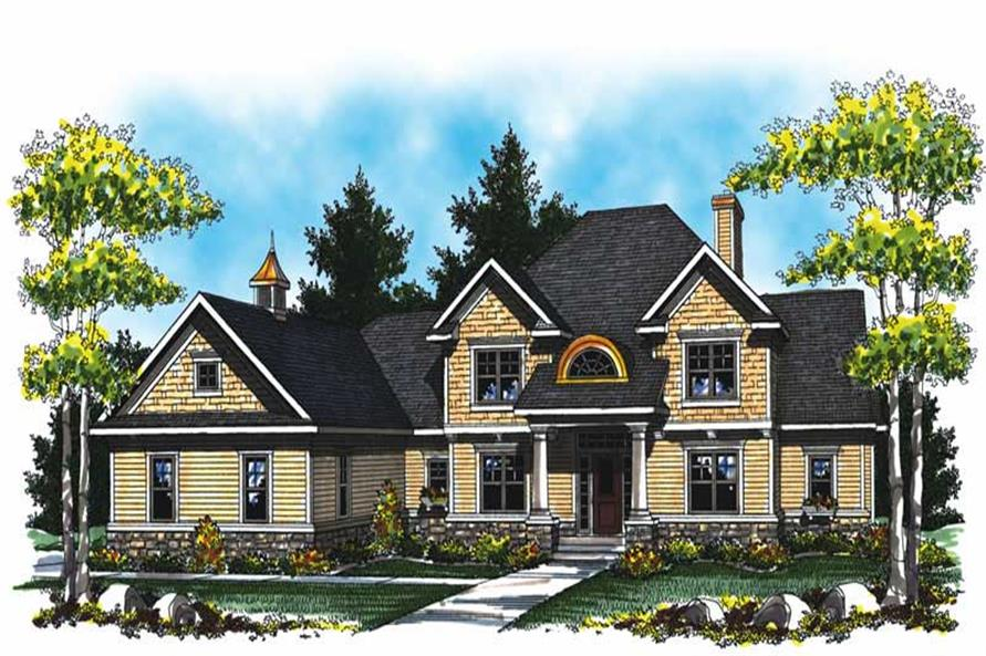 Main image for house plan # 17030