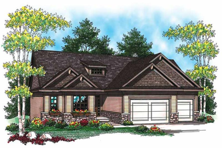 Main image for house plan # 19470