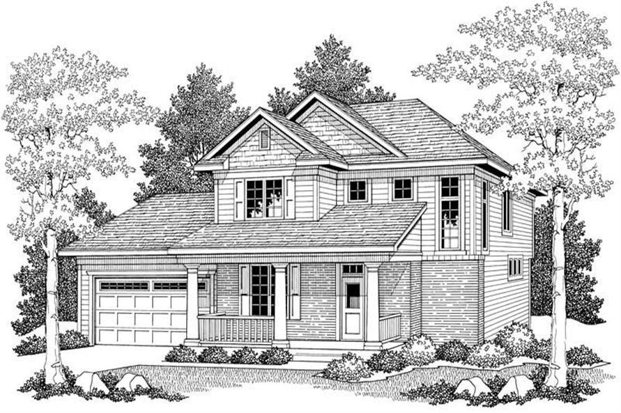 House Plan #101-1024