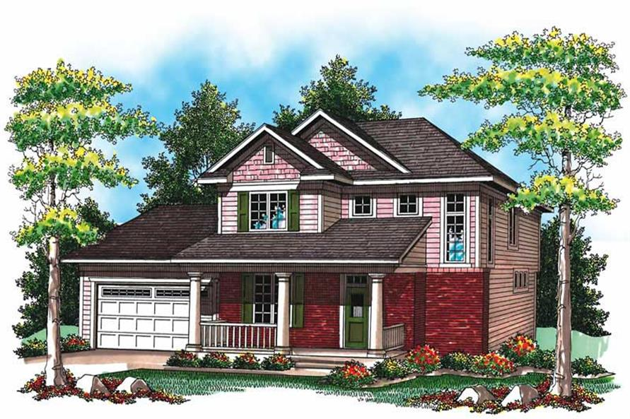 Main image for house plan # 19482