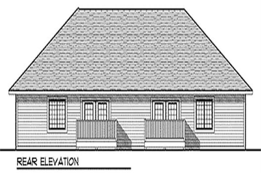 House Plan #101-1030