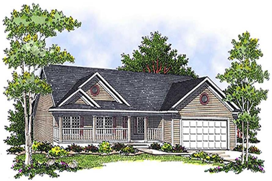 Main image for house plan # 17097