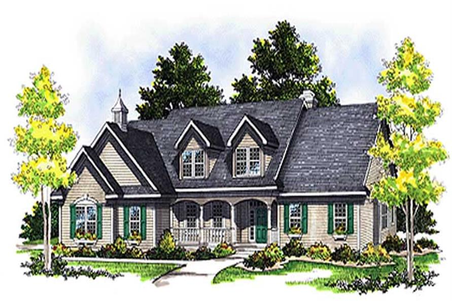 Main image for house plan # 17096