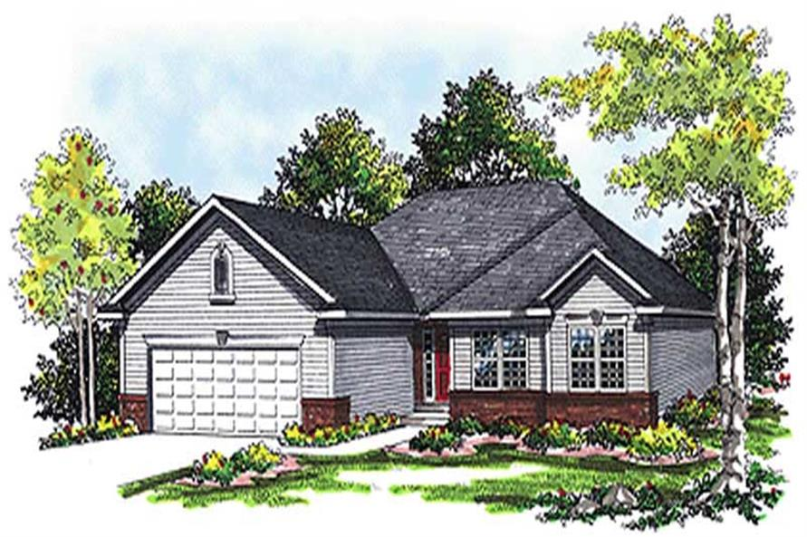 Main image for house plan # 17095