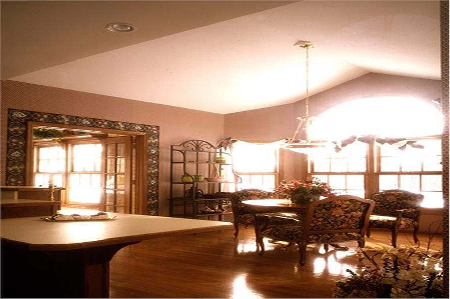 101-1045: Home Interior Photograph-Dining Room