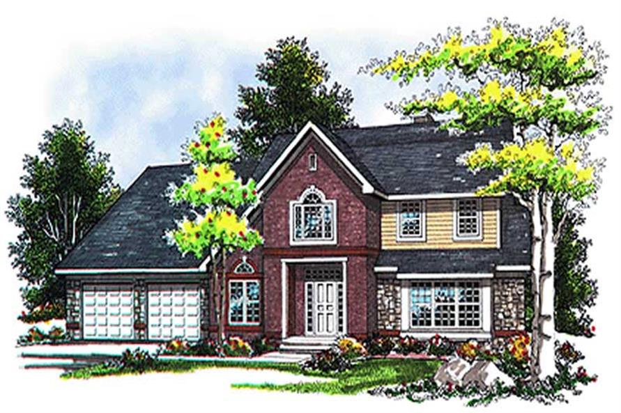 Main image for house plan # 17073