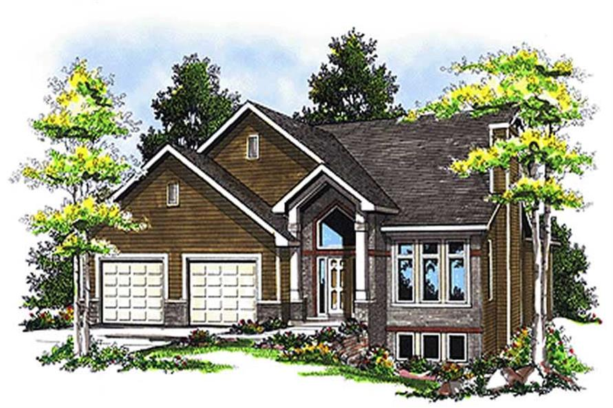 Main image for house plan # 17065