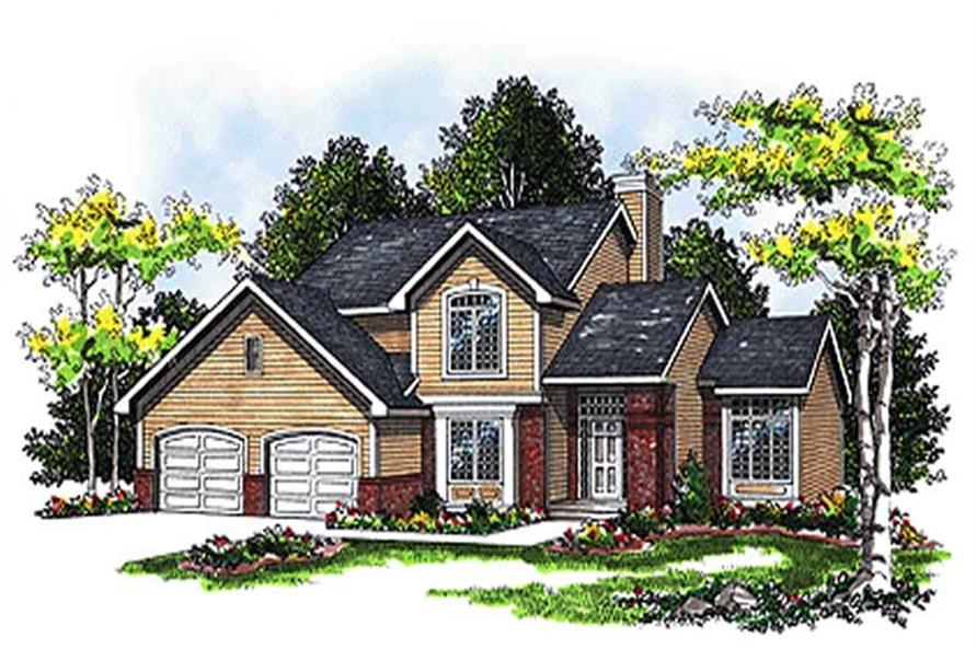 Main image for house plan # 17069