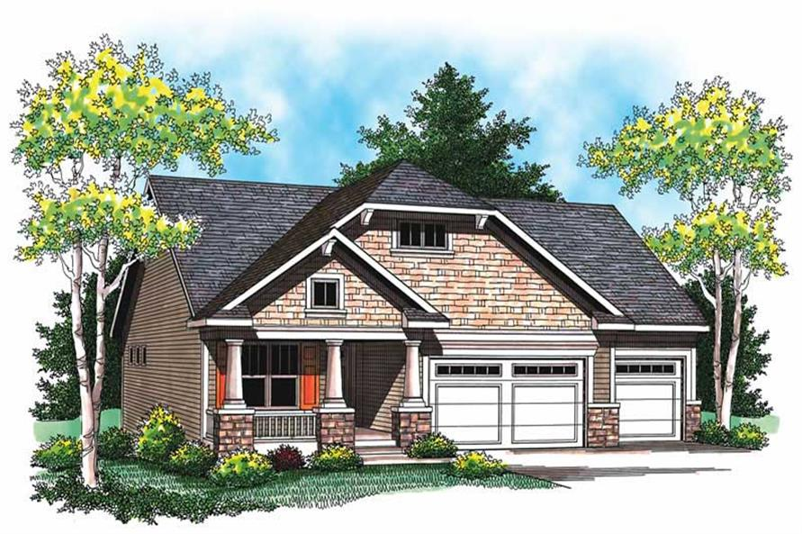 Main image for house plan # 19479